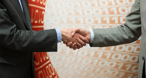 Negotiation Business Handshake
