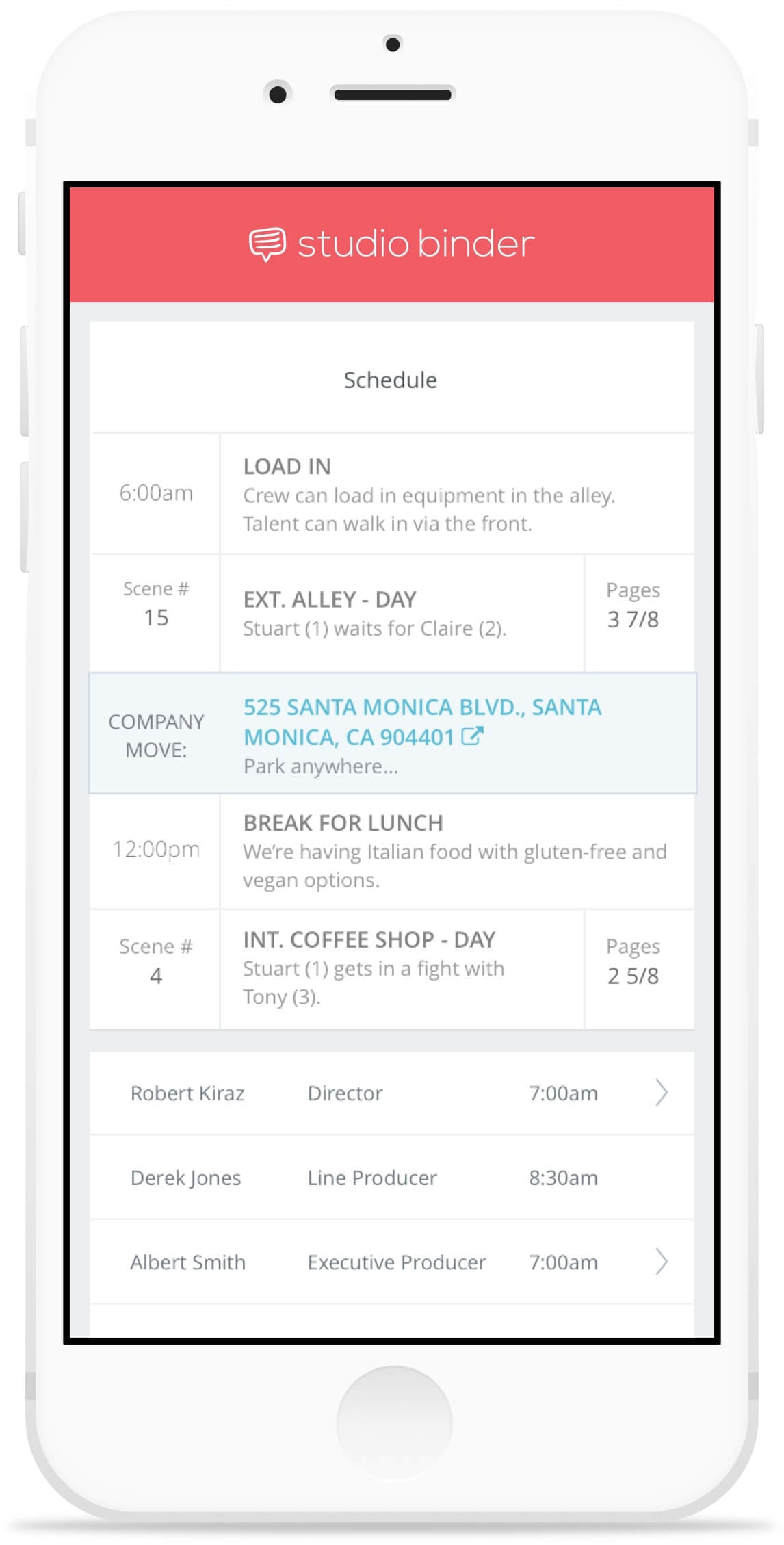 studiobinder-call-sheet-mobile-schedule-iphone-branded