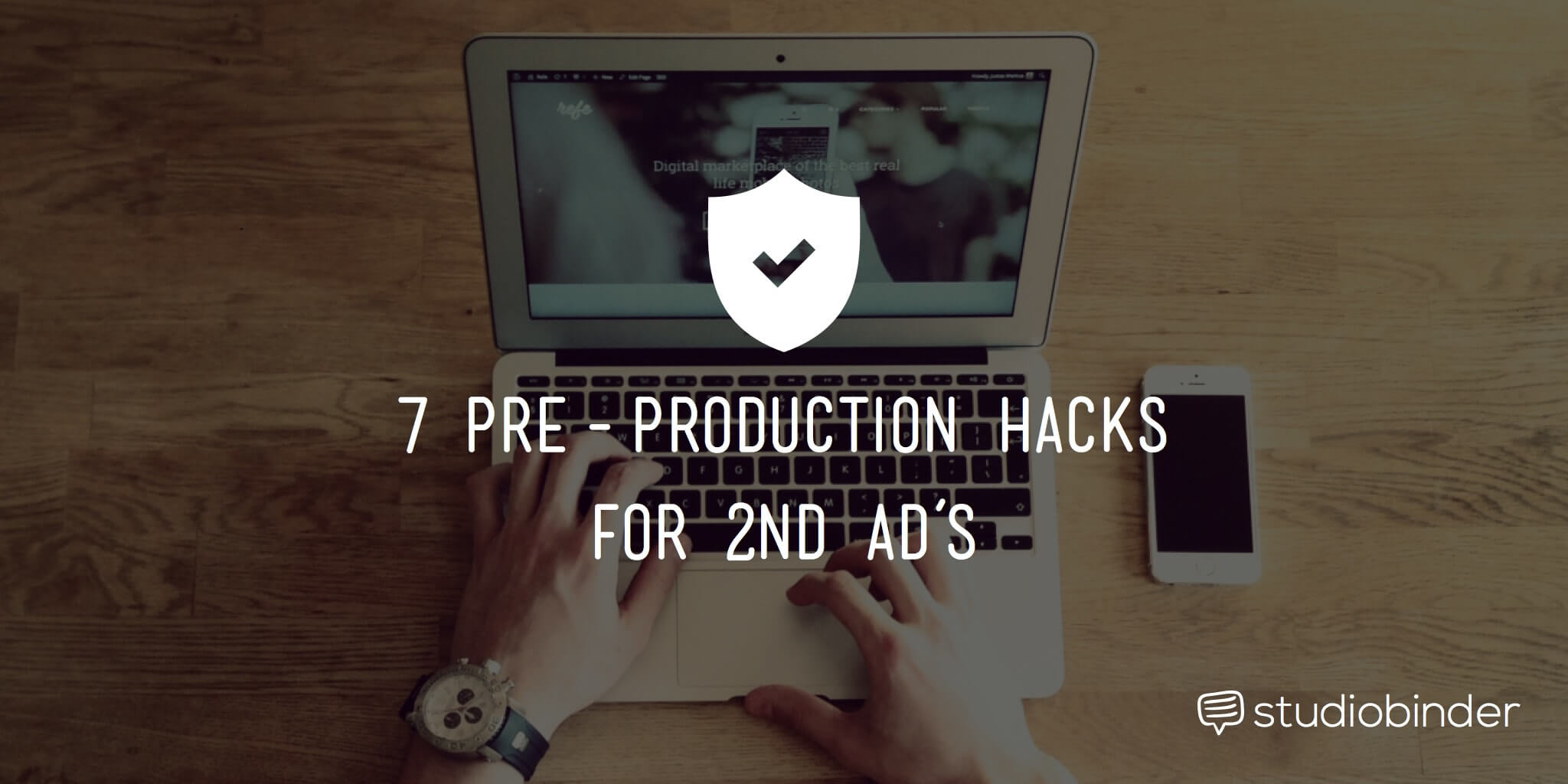 7 Pre-Production Hacks for a 2nd AD - StudioBinder