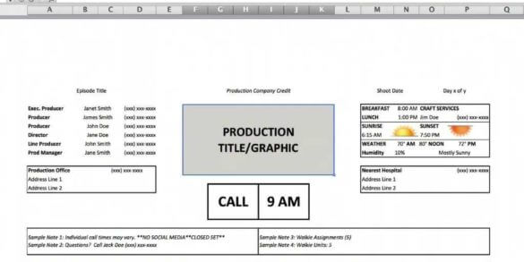 Staggering Call Time Formula - Featured Image - StudioBinder