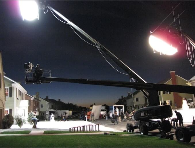 Crane light night shoot - StudioBinder