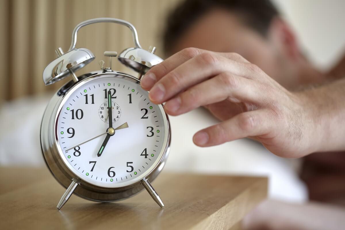 alarm-clock back on schedule