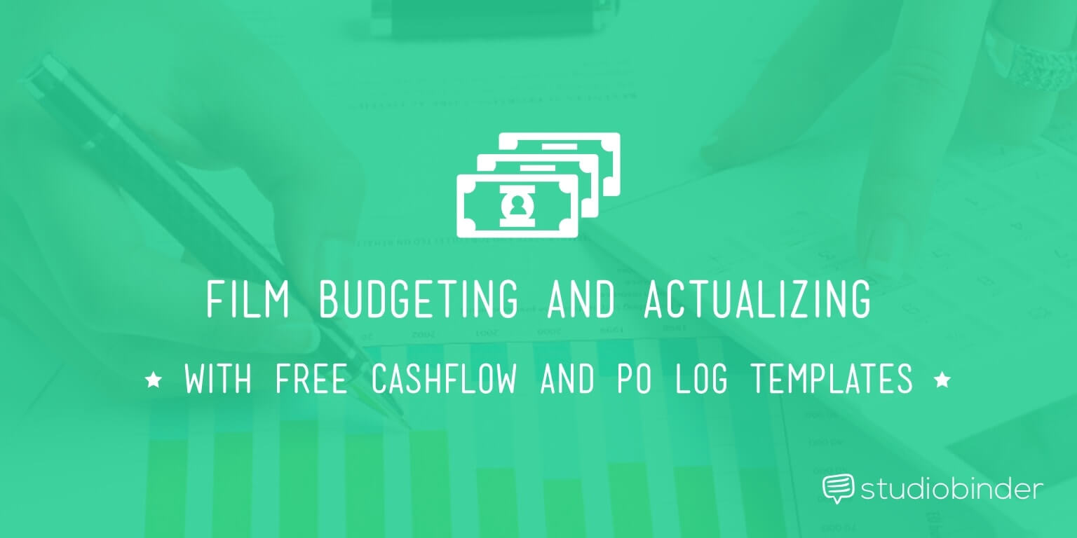 Film Budget Cashflow Template And Po Log Studiobinder