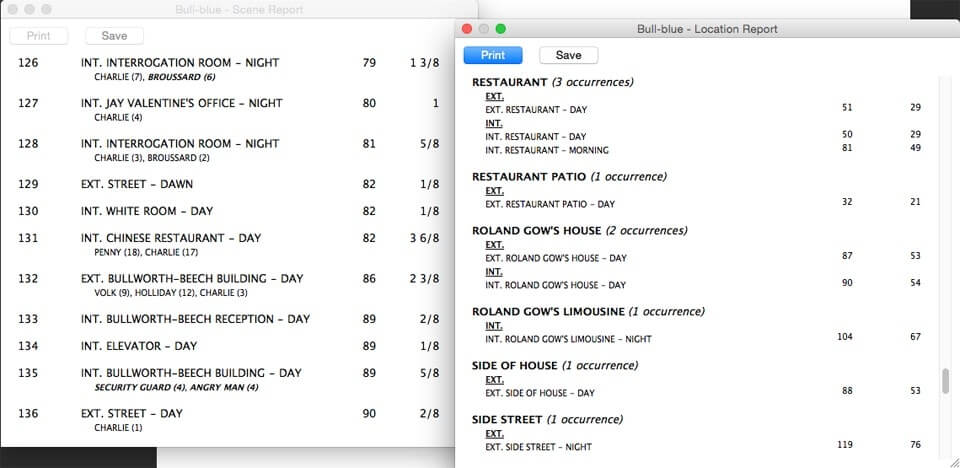 Script Breakdown – Location Consistency – StudioBinder