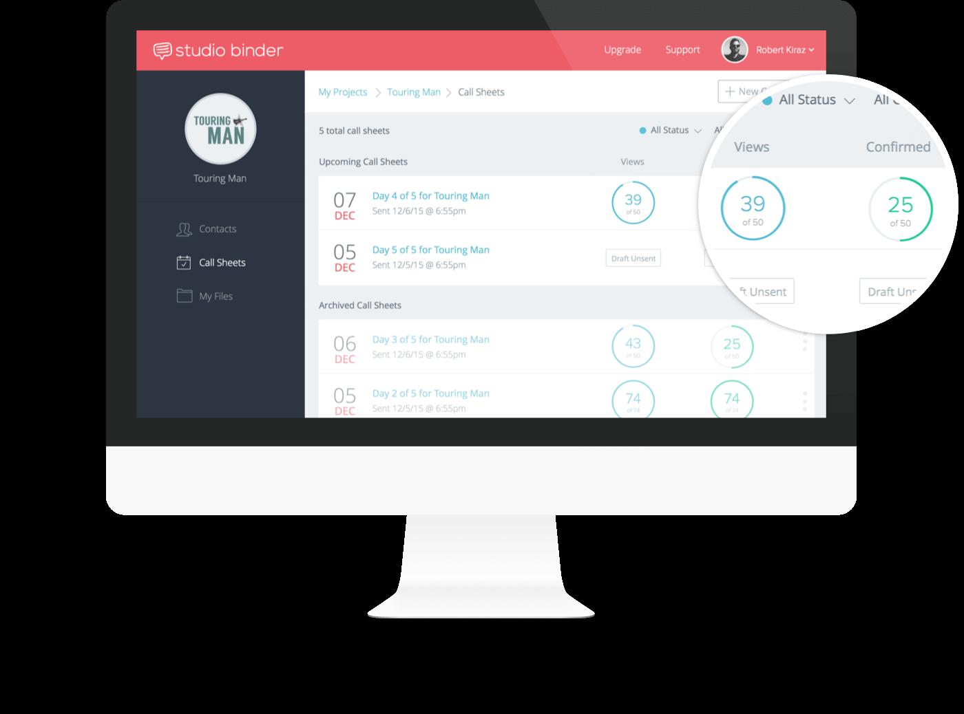 Call Sheet Template - Desktop Confirmation Email - StudioBinder-min