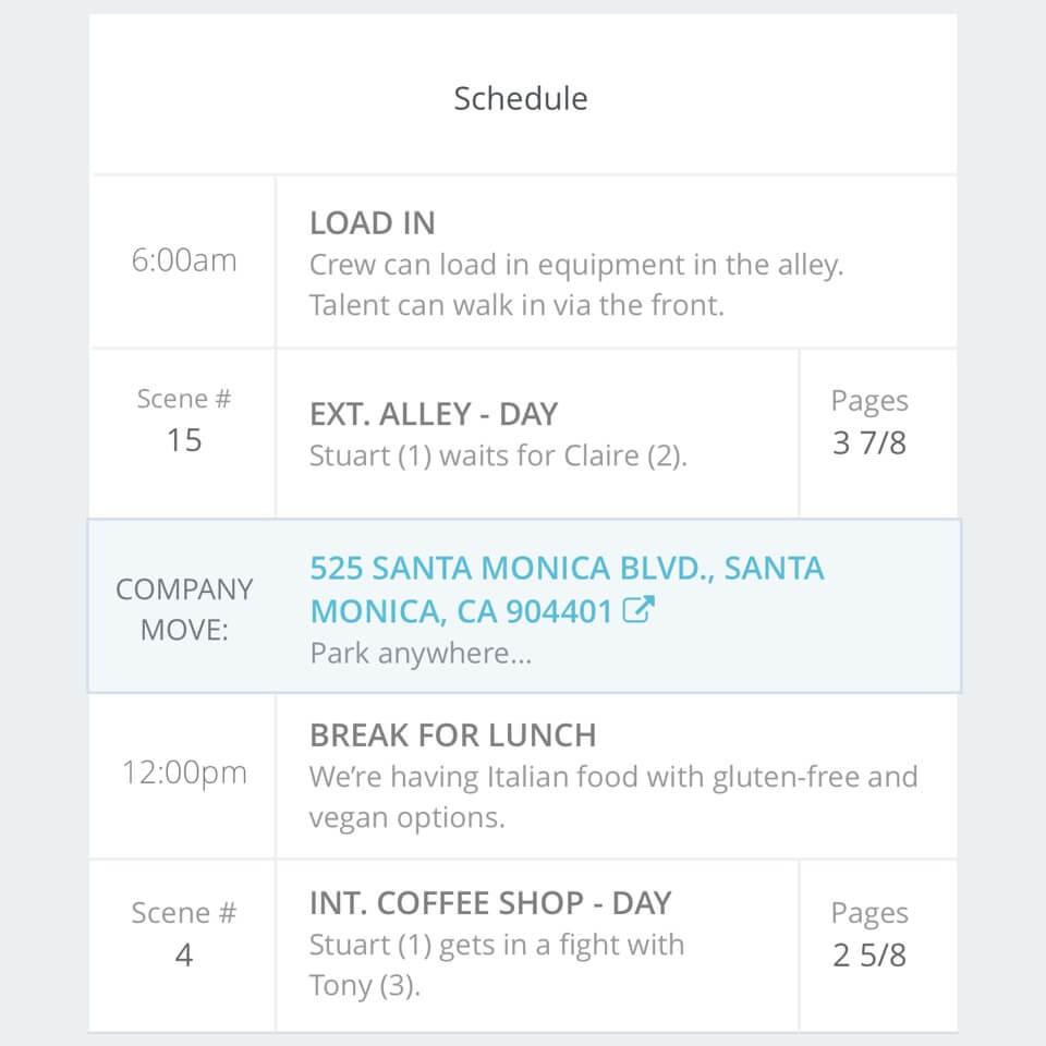 call-sheet-schedule-mobile-studiobinder
