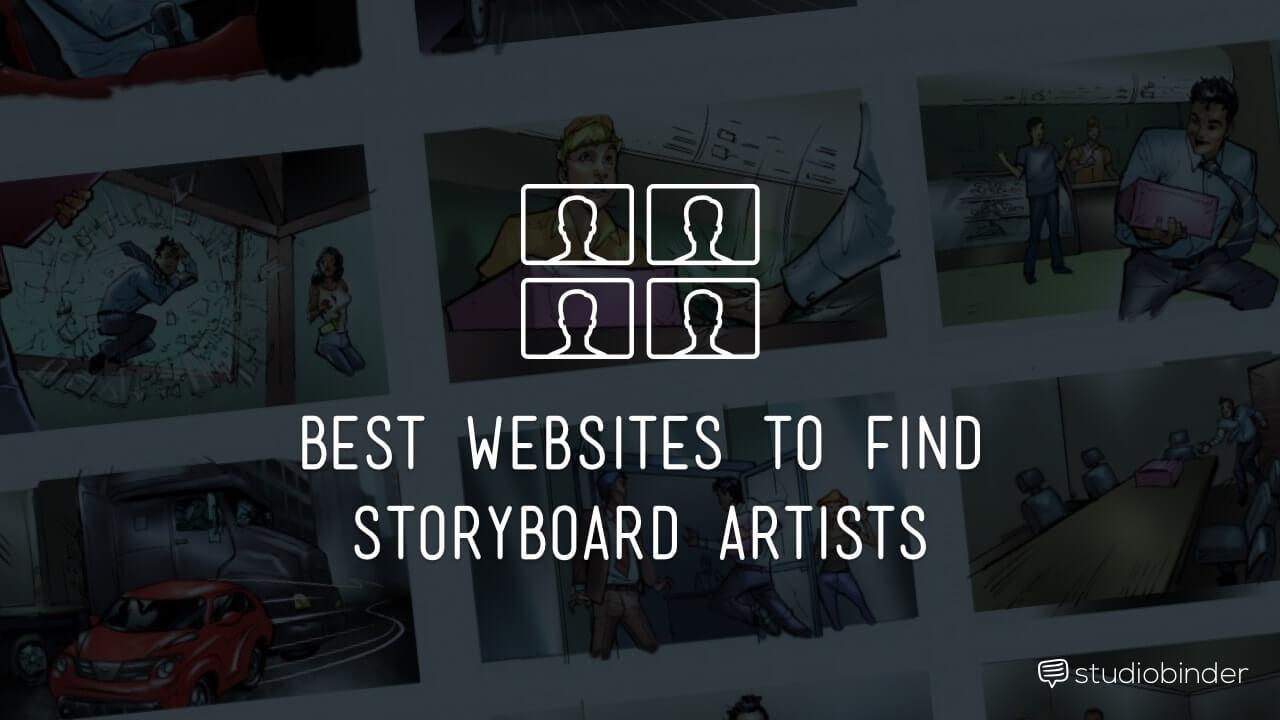 Best Websites to Find a Storyboard Artist - StudioBinder-min