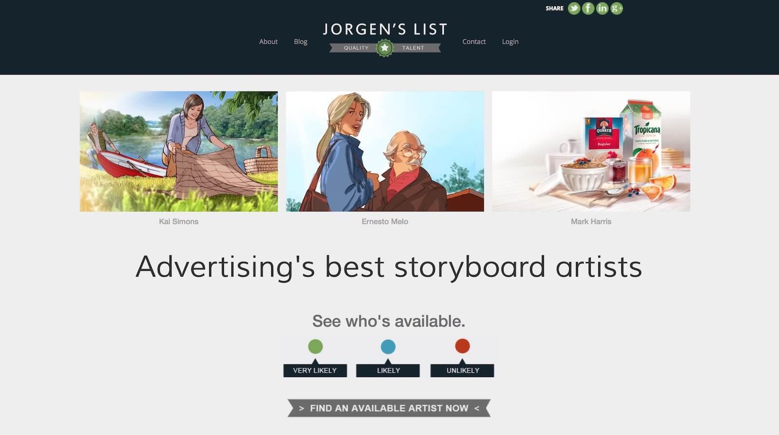 8 websites to find hire a storyboard artist for Best art websites for artists
