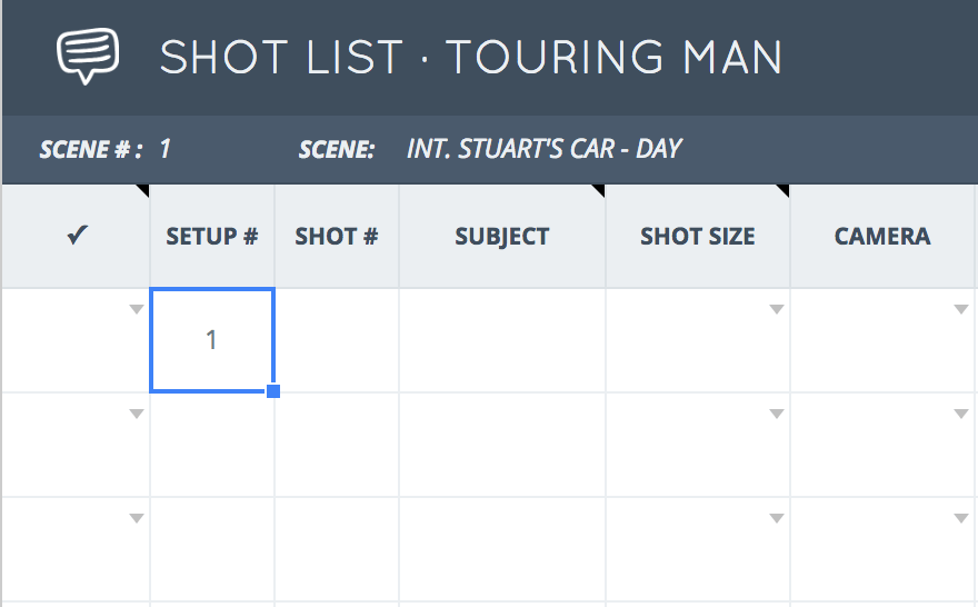 The Only Shot List Template You Need U2014 With Free Download