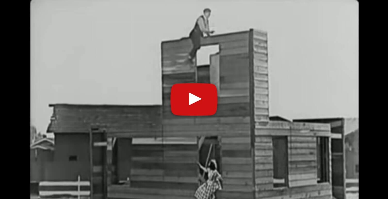 Best of Buster Keaton's stunts