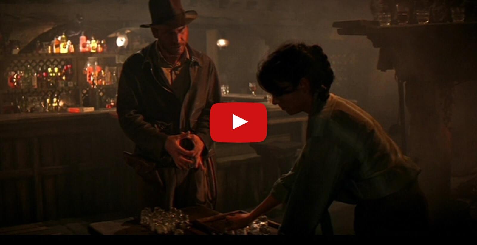 Indiana Jones and the Raiders of the Lost Ark — Bar Scene