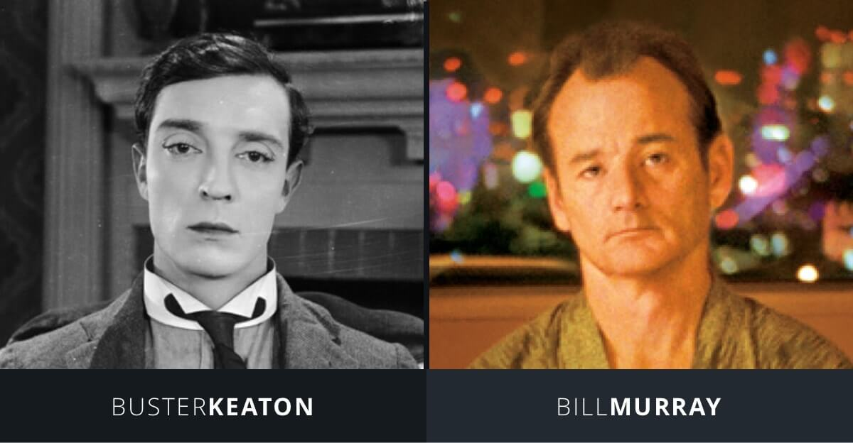 Art of the Gag - Buster Keaton and Bill Murray - Deadpan