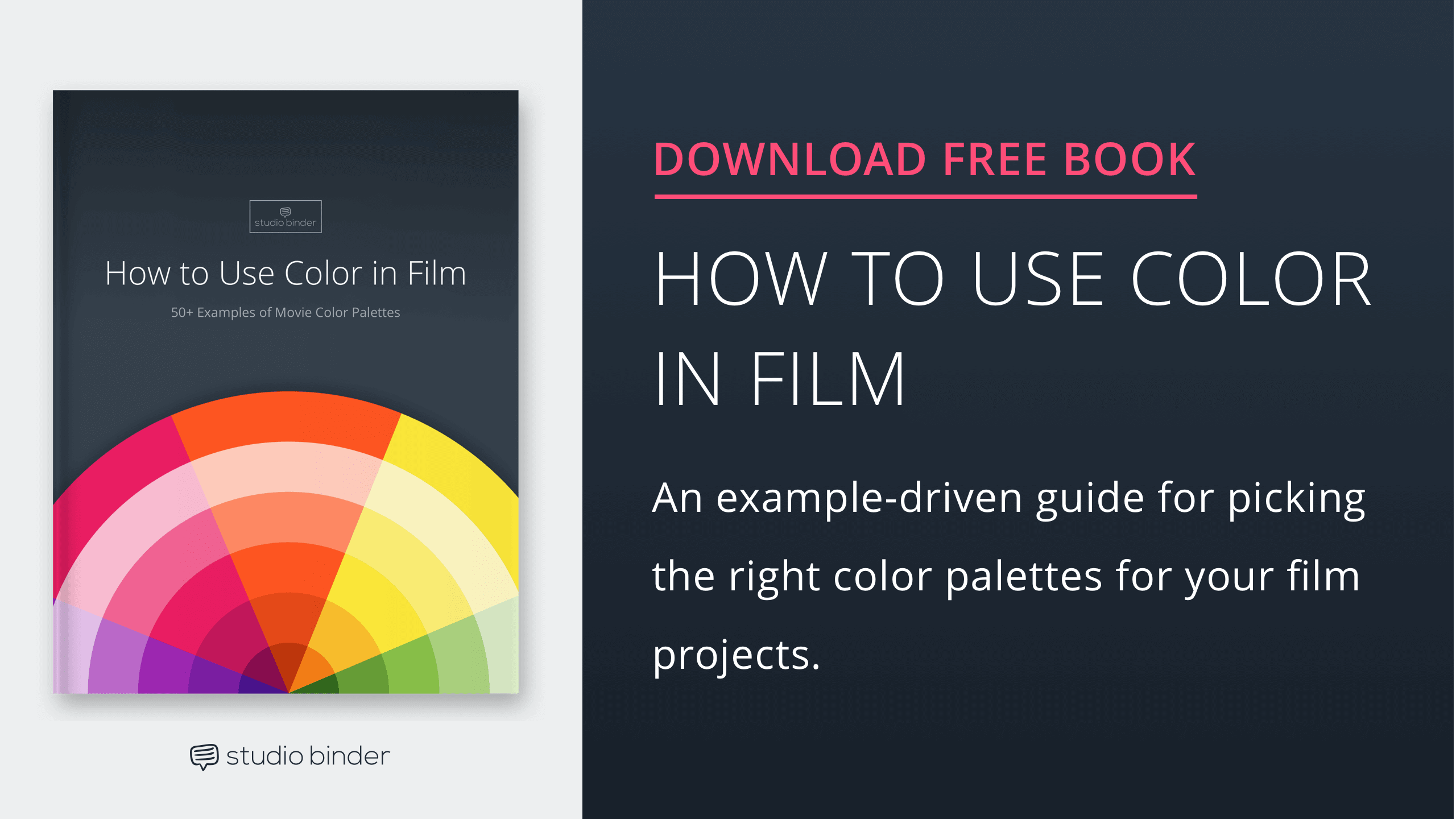 How to Use Color in Film – FREE Ebook Download