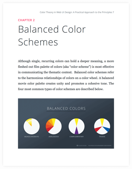 color in film over 50 movie color palettes free ebook