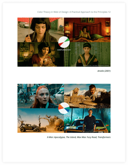 How to Use Color in Film Ebook - Complementary Movie Color Schemes - StudioBinder