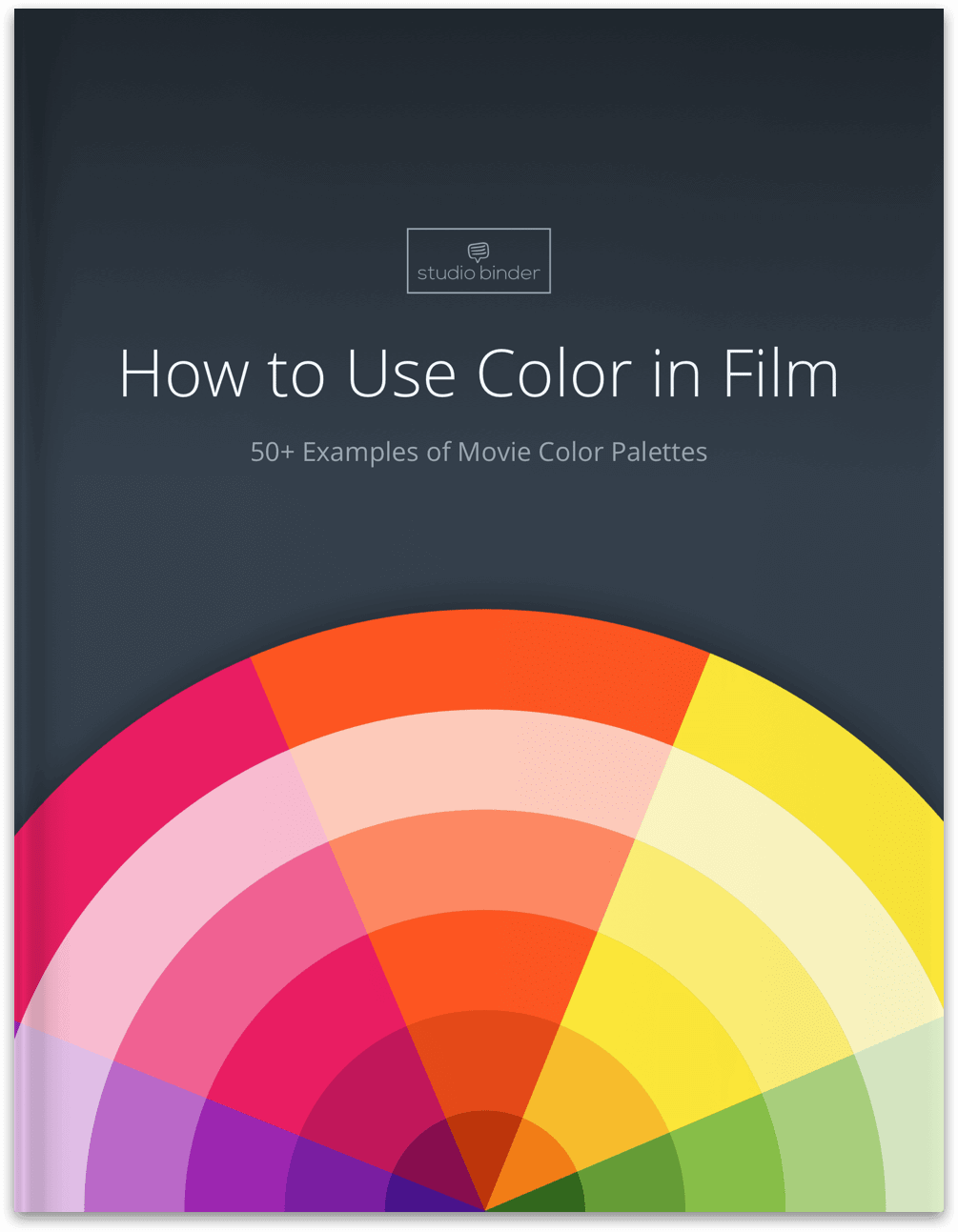 Color in Film: Over 50+ Movie Color Palettes (FREE Ebook)