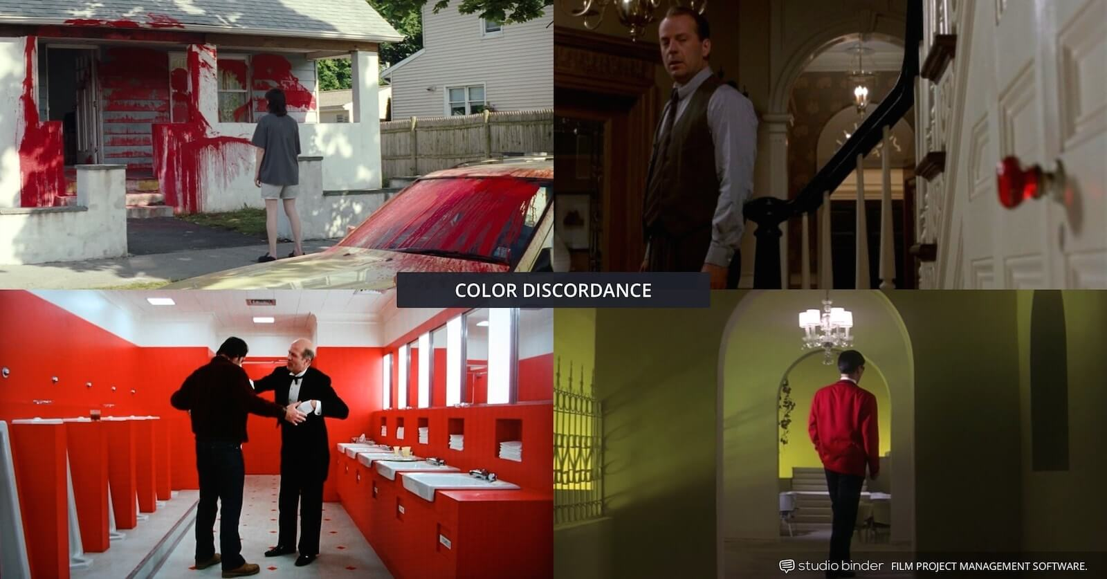 How to Use Color in Film - Example of Movie Color Palette and Scheme - Various Discordance Examples-min