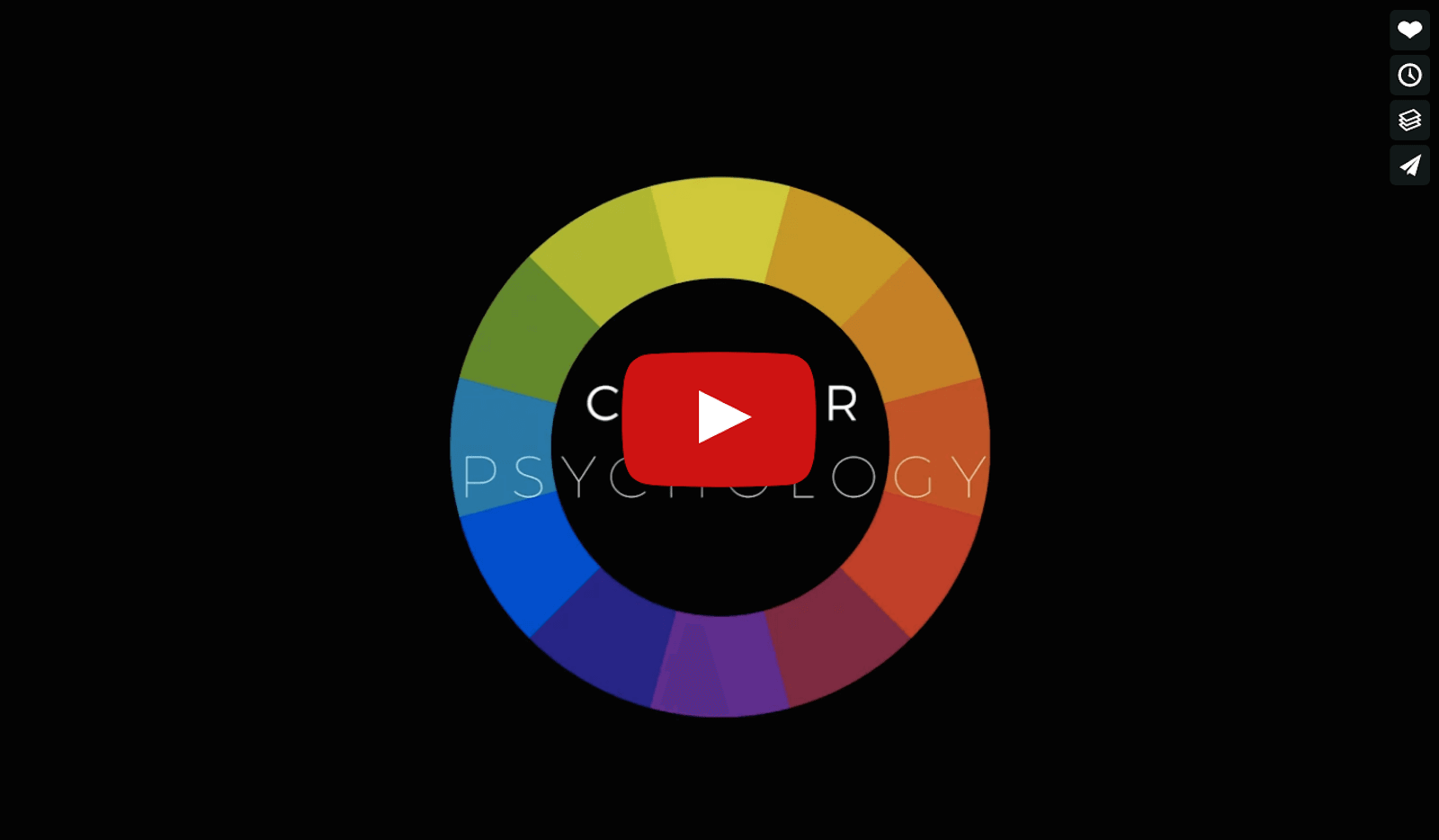 The psychological effect of color in films