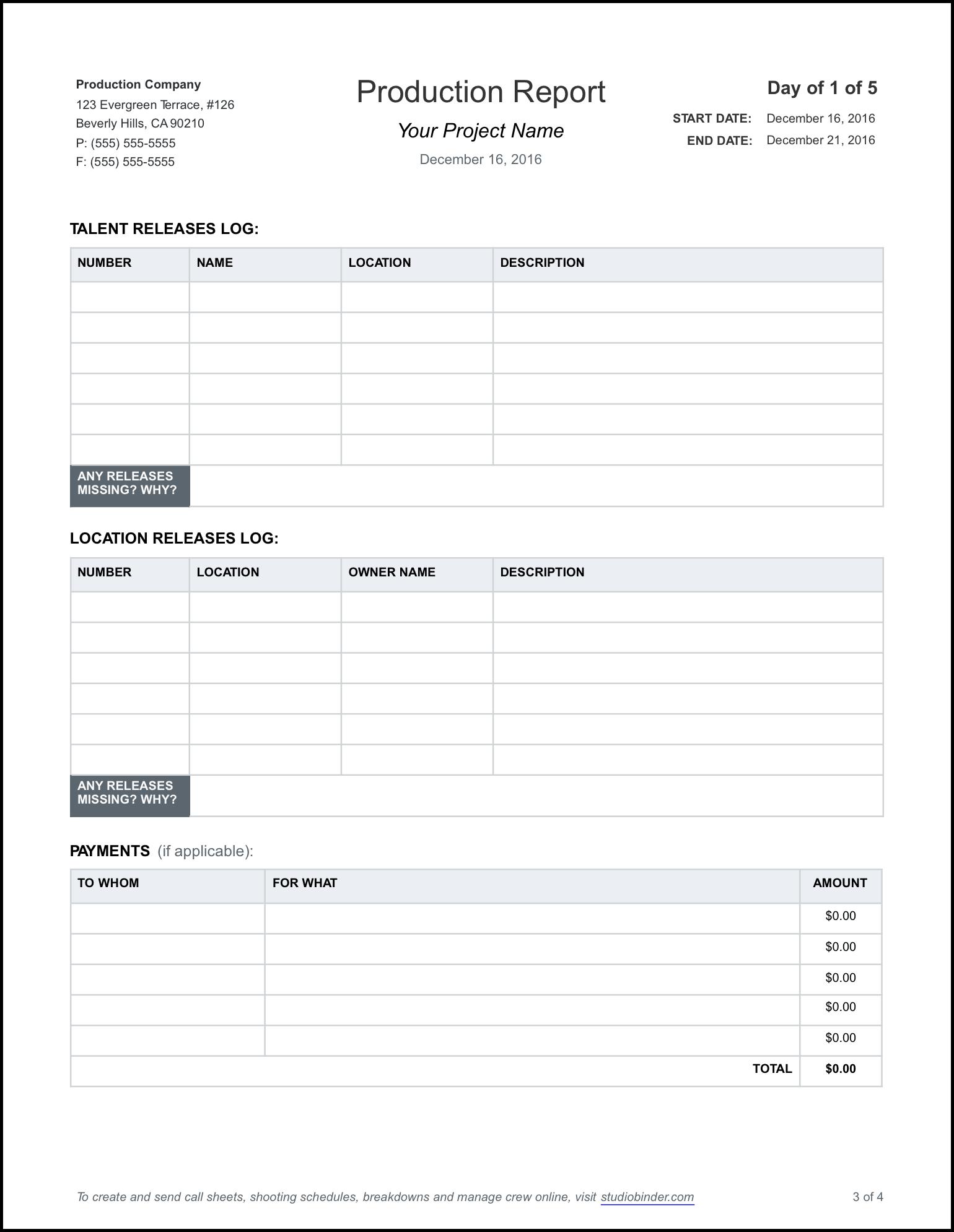 Sample business report template datariouruguay flashek Images