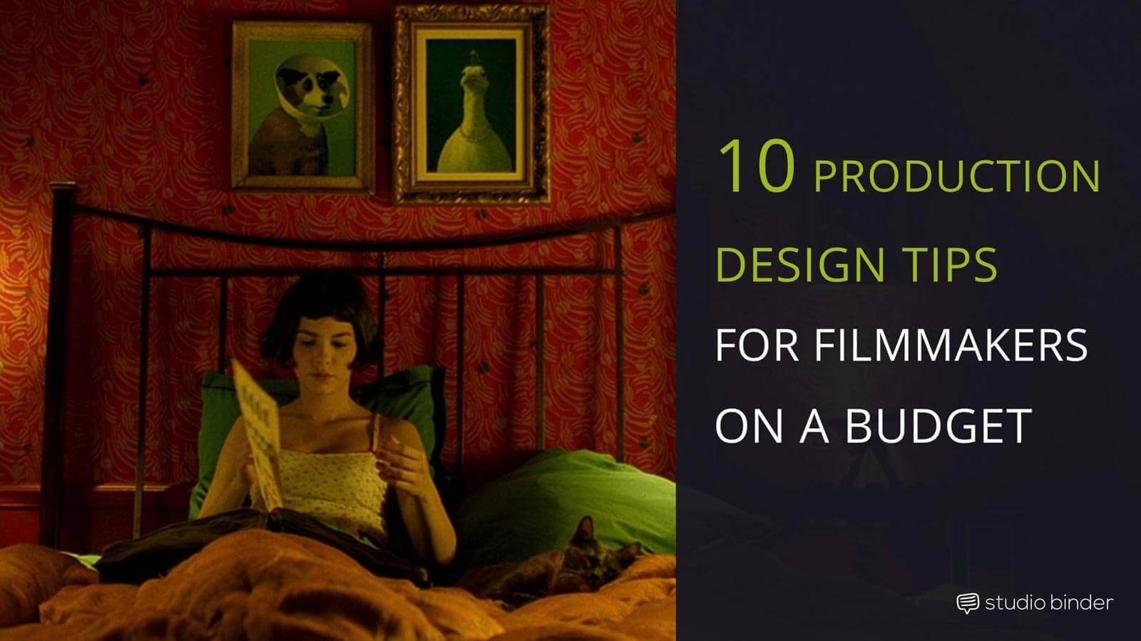 10 Production Design Tips For Filmmakers on a Budget - Featured - StudioBinder-min