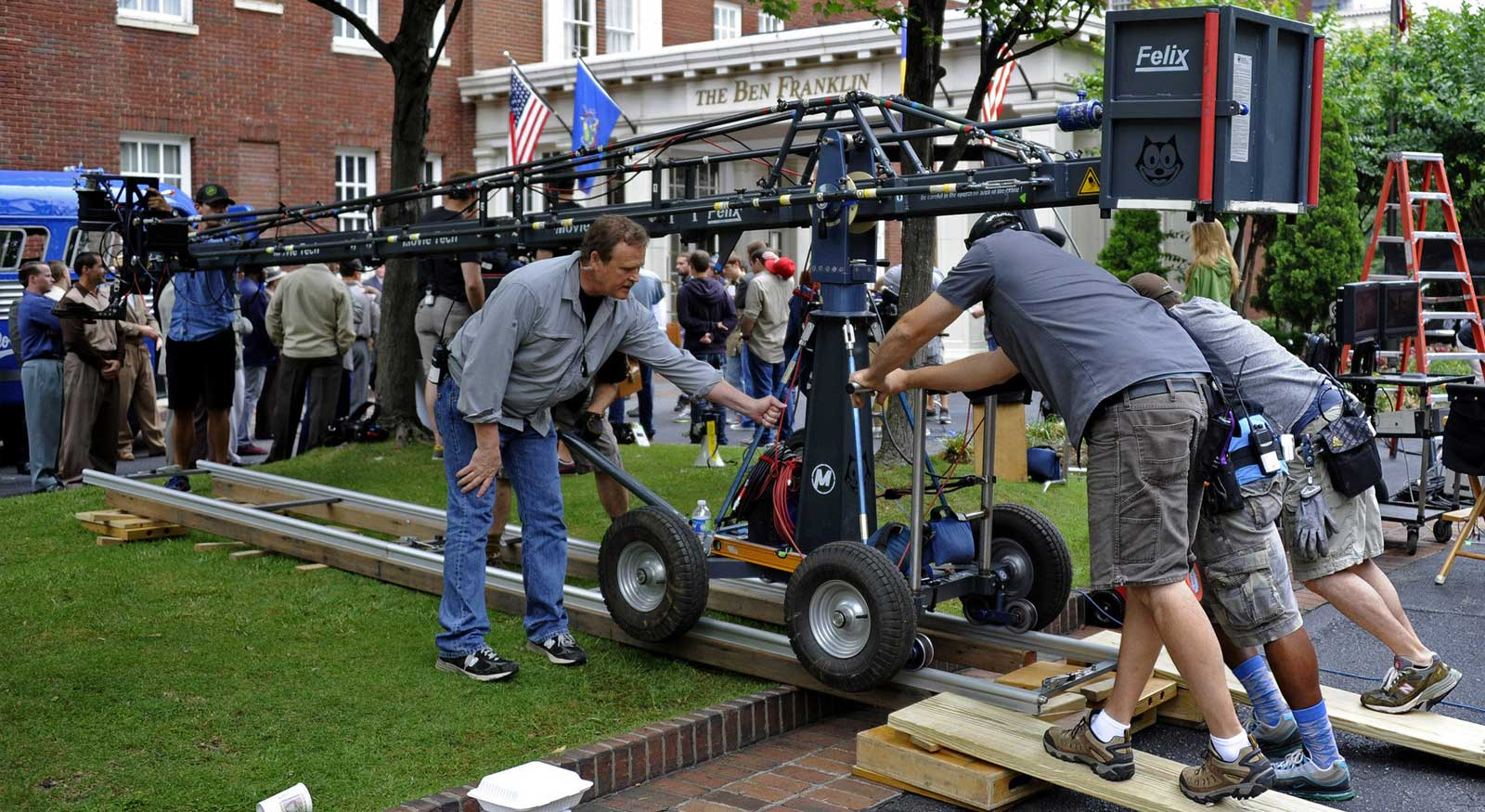 Shooting Schedule Pro Tips for a 10-Page Shoot Day - 2. Enlist film crew setup scene
