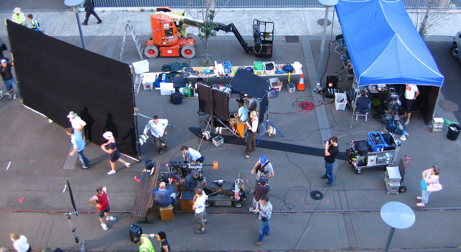 Shooting Schedule Pro Tips for a 10-Page Shoot Day - 3. Film Set On Location Catering