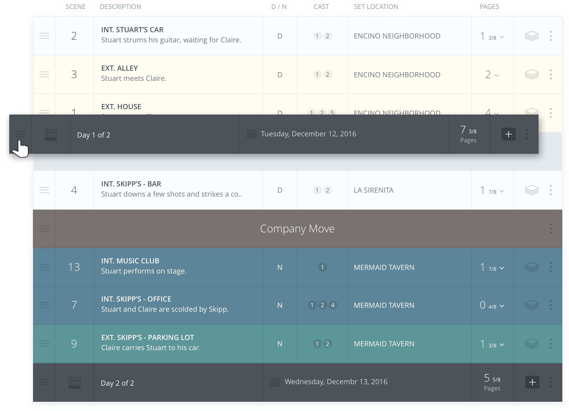 Free Scheduling Software For Filmmakers – StudioBinder