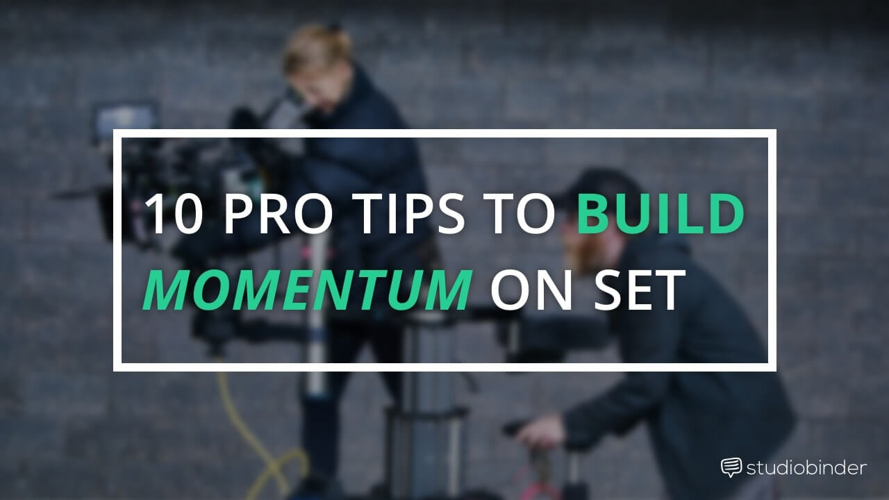 10 Shooting Schedule Pro Tips to Build Momentum on Set - Featured - StudioBinder