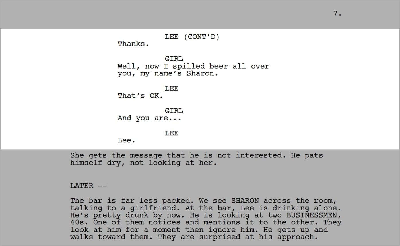 6 Effective Screenwriting Tips To Improve Your Movie Dialogue - Screenplay Lines