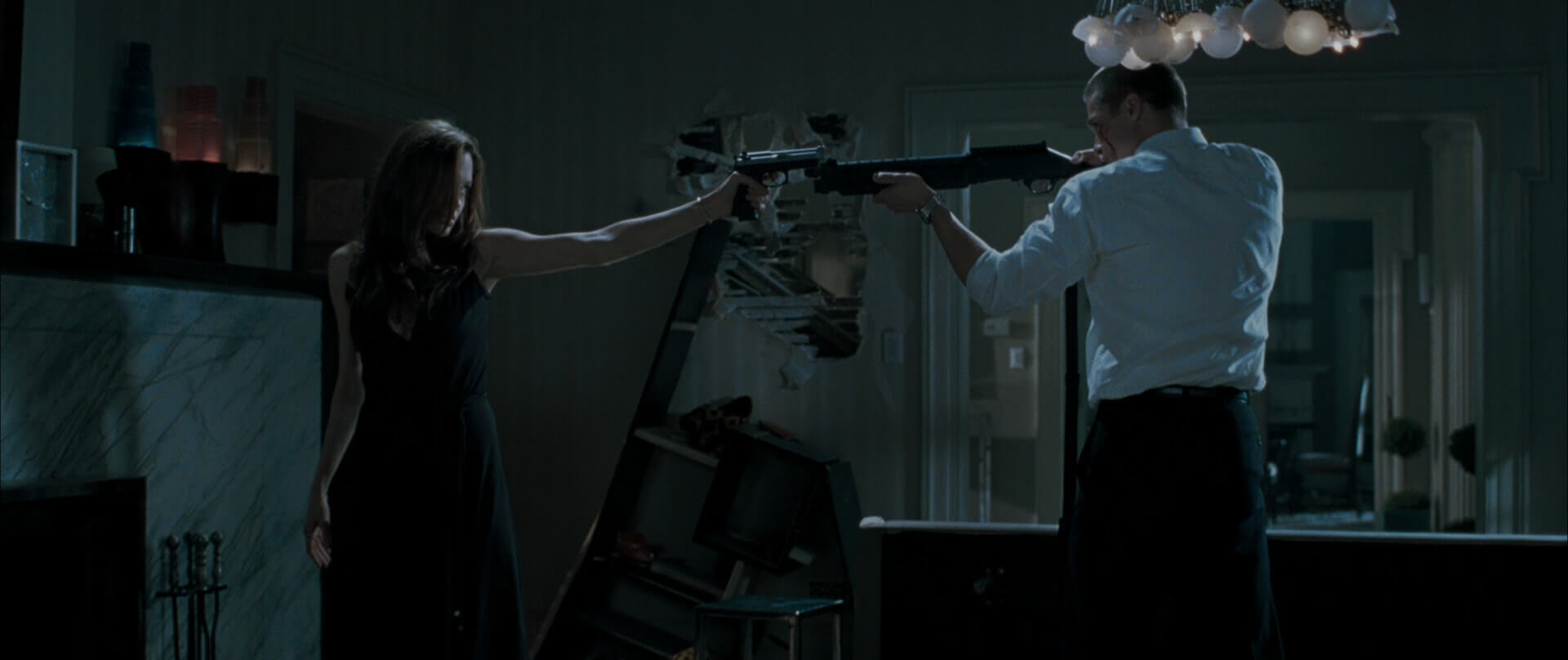 Fight Choreography and Fists - How to Shoot A Fight Scene - Mr and Mrs Smith Gun Fight