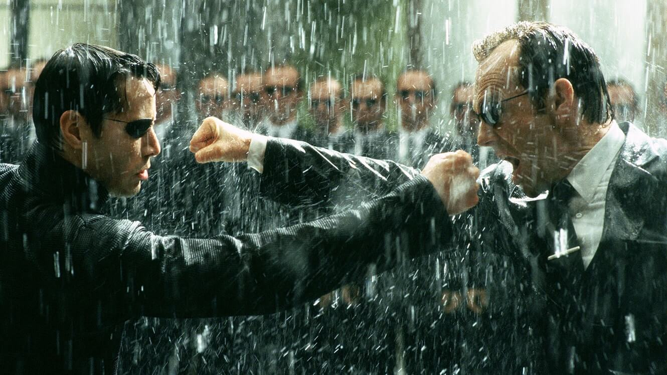 Fight Choreography and Fists - How to Shoot A Fight Scene - The Matrix Neo Mr Smith Fight Scene