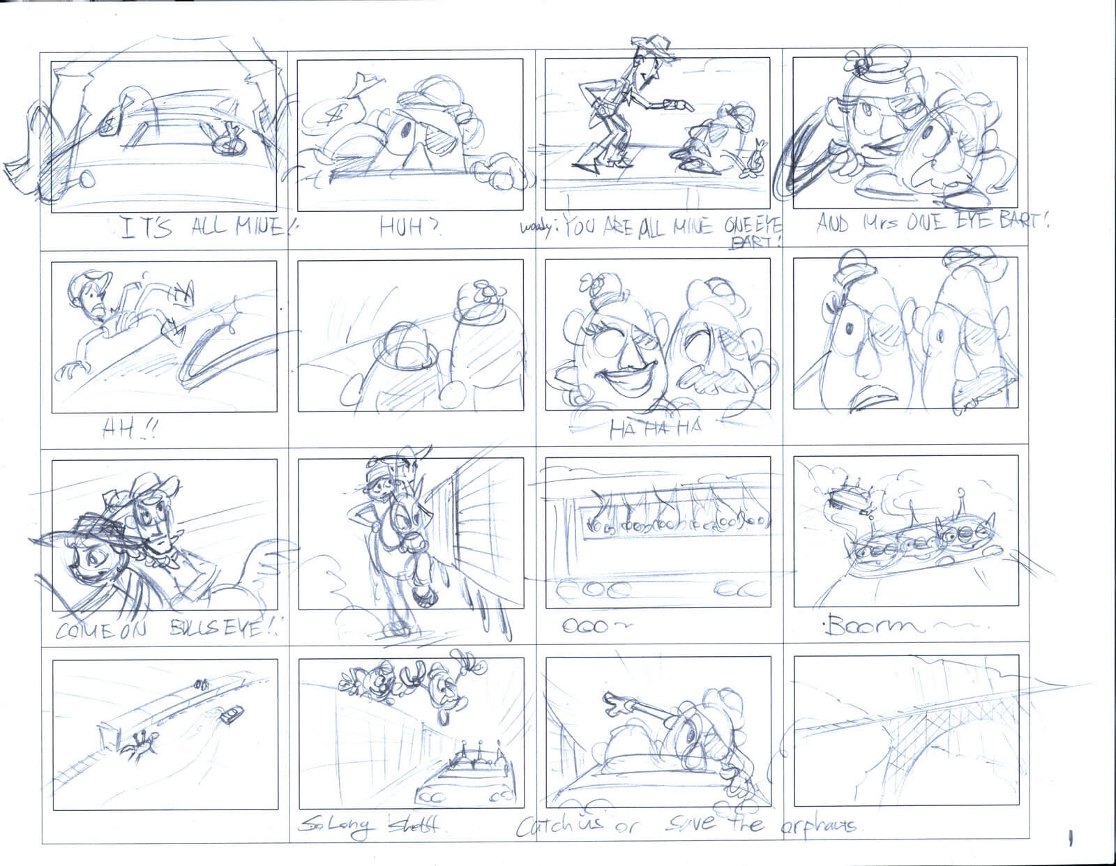 The Pixar Storytelling Formula - An Inside Look - Toy Story 3 Storyboard