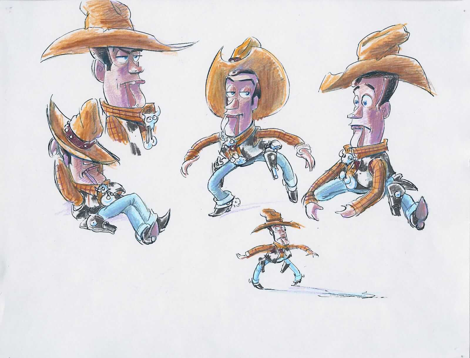 The Pixar Storytelling Formula - An Inside Look - Toy Story Concept Art 2