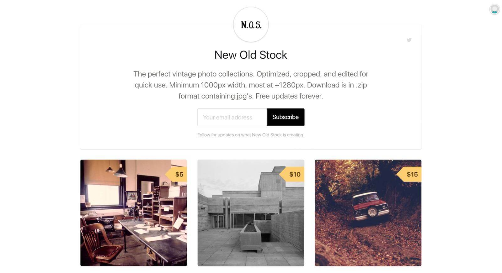 13 Best Stock Photo Sites for Creative Agencies - 11. New Old Stock