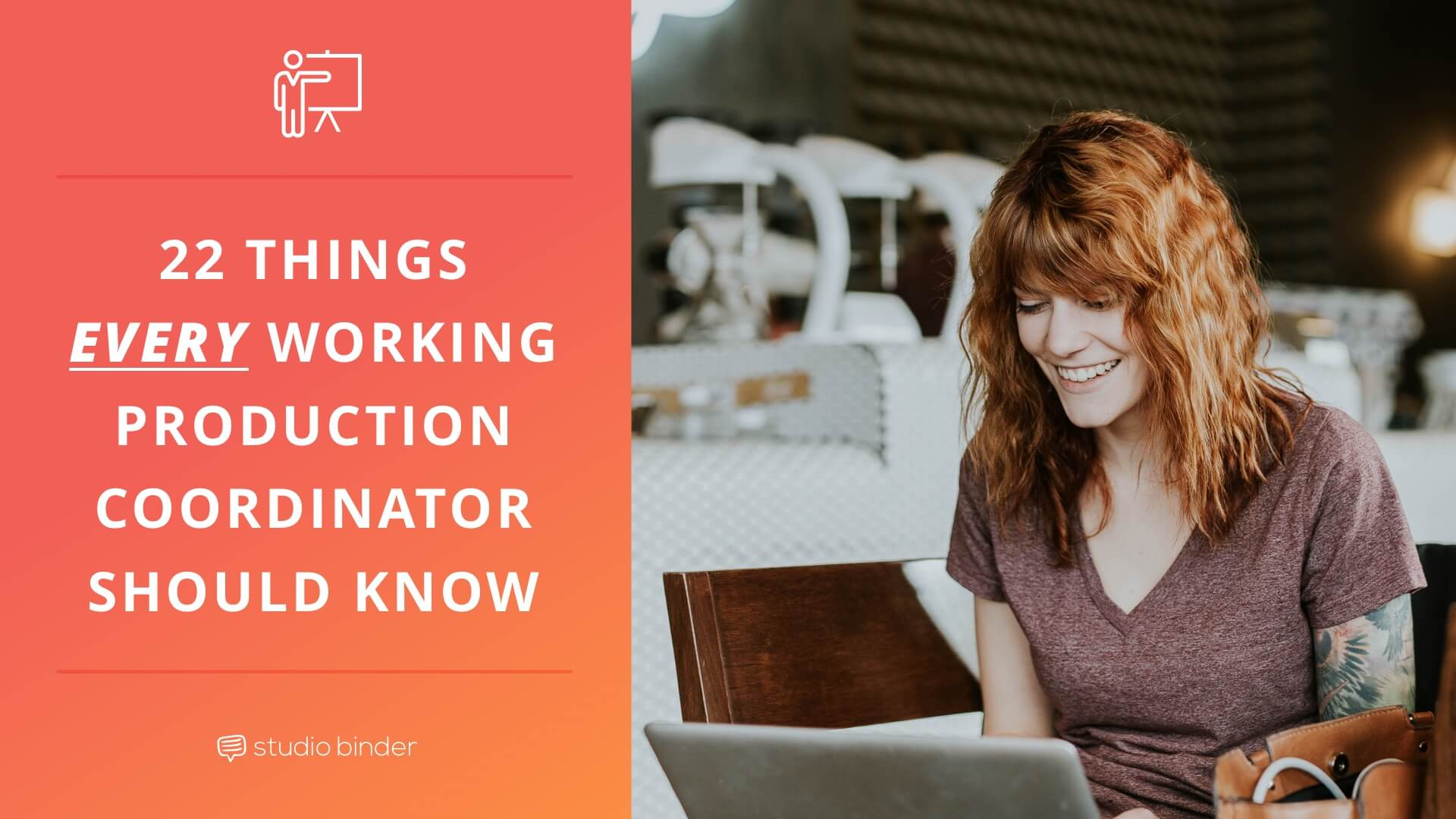 22 Things Every Working Production Coordinator Should Know - Social Image - StudioBinder