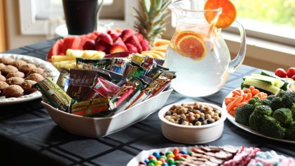 8 Essential Tips for Prepping an Awesome Craft Services Table - Featured Image - StudioBinder-min