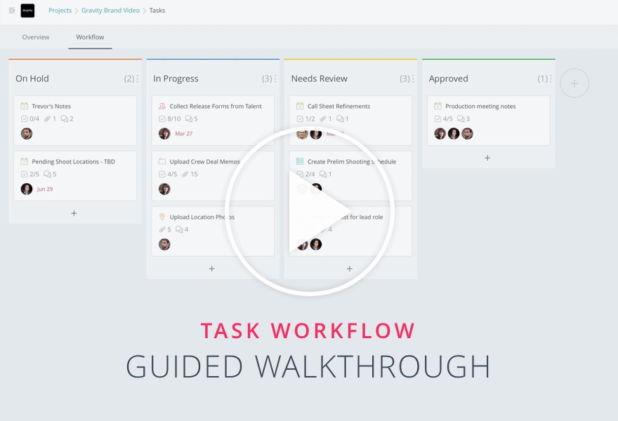Collaboration Tutorials - Guided Tour for Task Workflow1