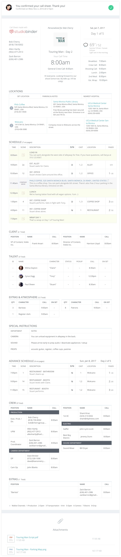 Feature film call sheet template free feature film call sheet template sample studiobinder desktop maxwellsz