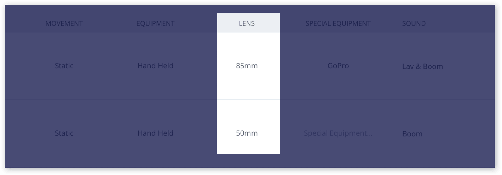 The Only Shot List Template You Need (with Free Download) - Lens
