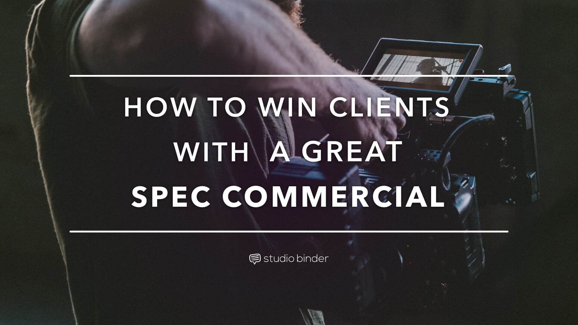 How To Win Clients With A Great Specmercial Featuring Spec Ad Examples   Studiobinder