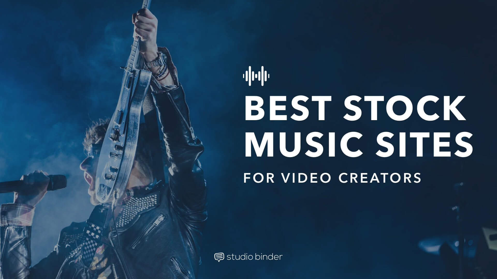 Best Stock Music Sites for Video Creators - Social Image - StudioBinder