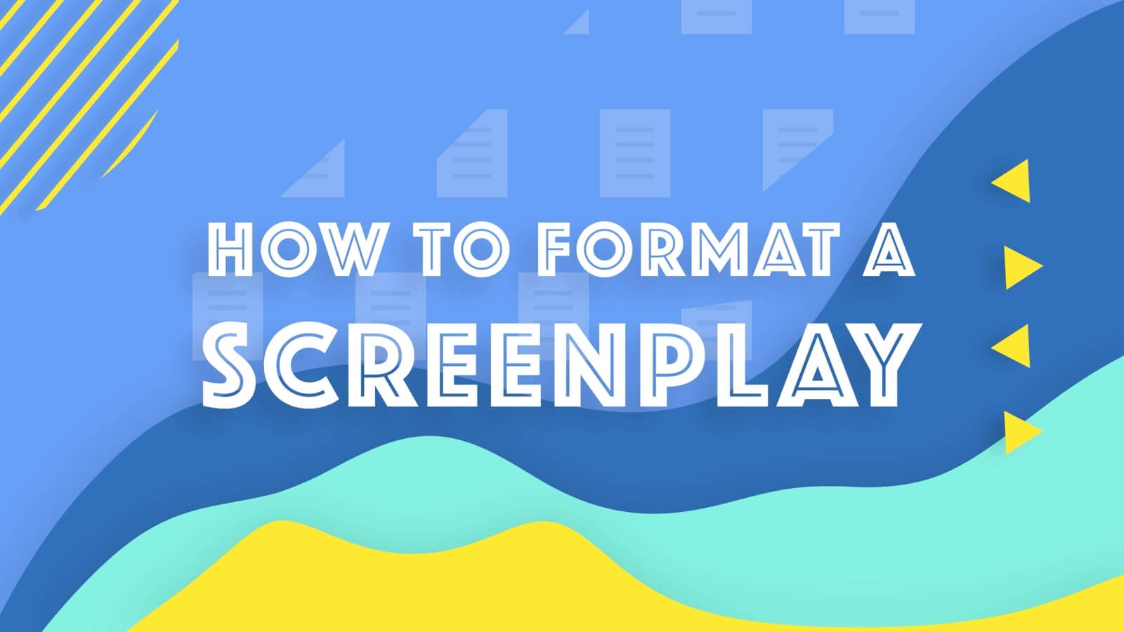 Screenplay format can seem daunting, but once you understand that it's all there for a reason, you'll have it mastered in no time.
