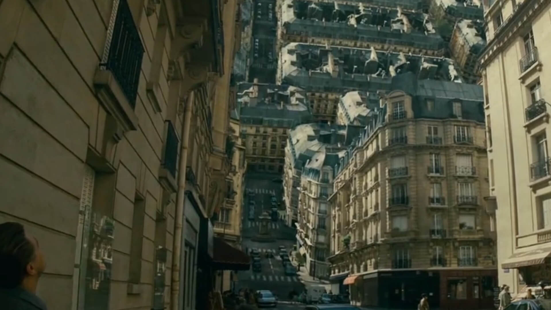 How to Design Shot Lists Like Christopher Nolan - Inverted City Inception - StudioBinder