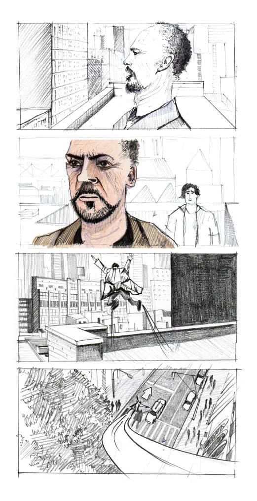 How to Make a Storyboard - Birdman Storyboard - StudioBinder