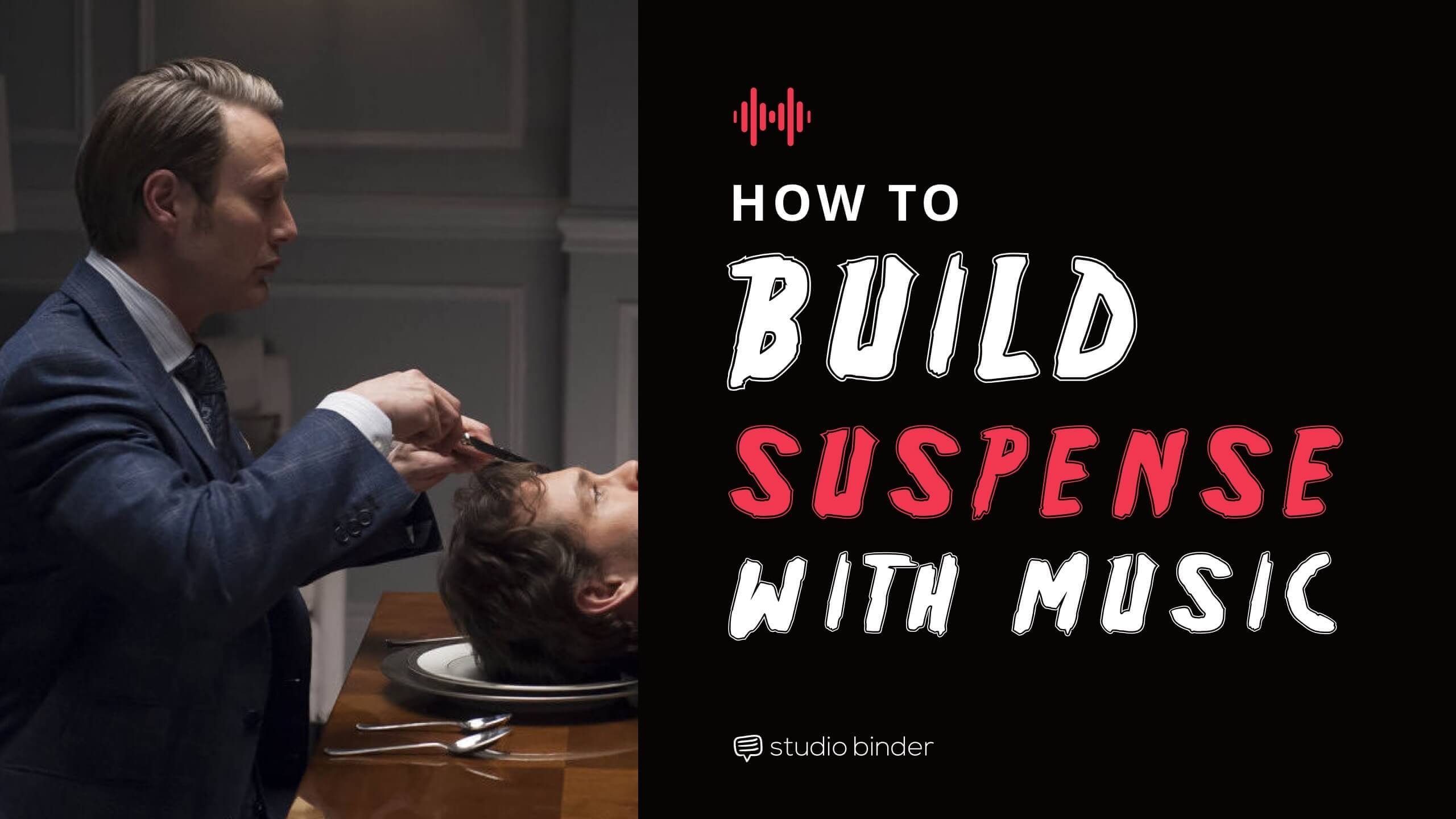 Suspenseful music can make the most innocent scene a nightmare. Here's how you can use music to terrifying your audience.