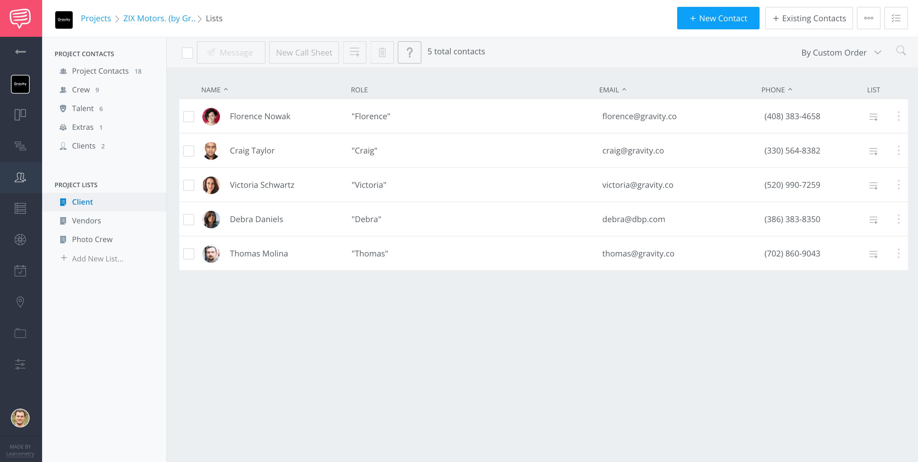 Model Release Form - Manage Talent Information CRM - StudioBInder