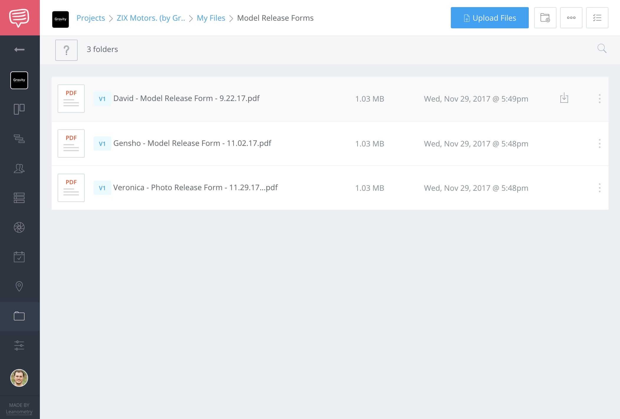 Model Release Form Template - File Storage - StudioBinder