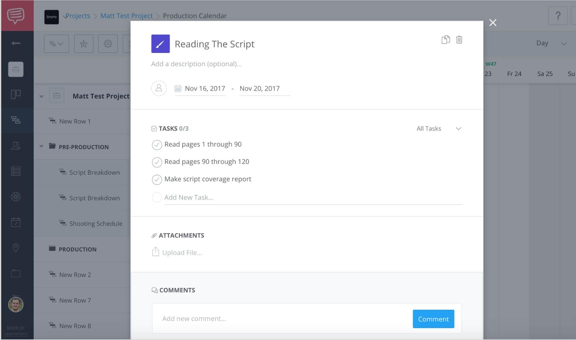 Create a free online gantt chart studiobinders gantt chart software in geenschuldenfo Choice Image