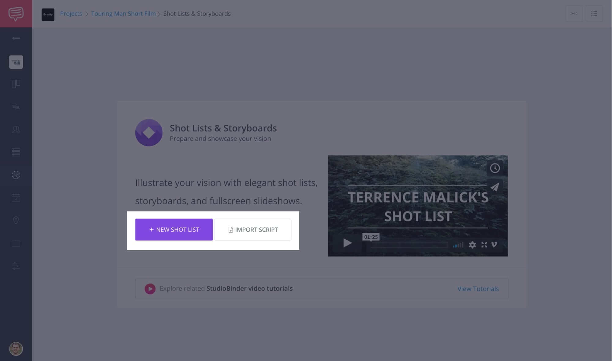 How to Create a Shot List with StudioBinder - Shot List Creator Template - 1