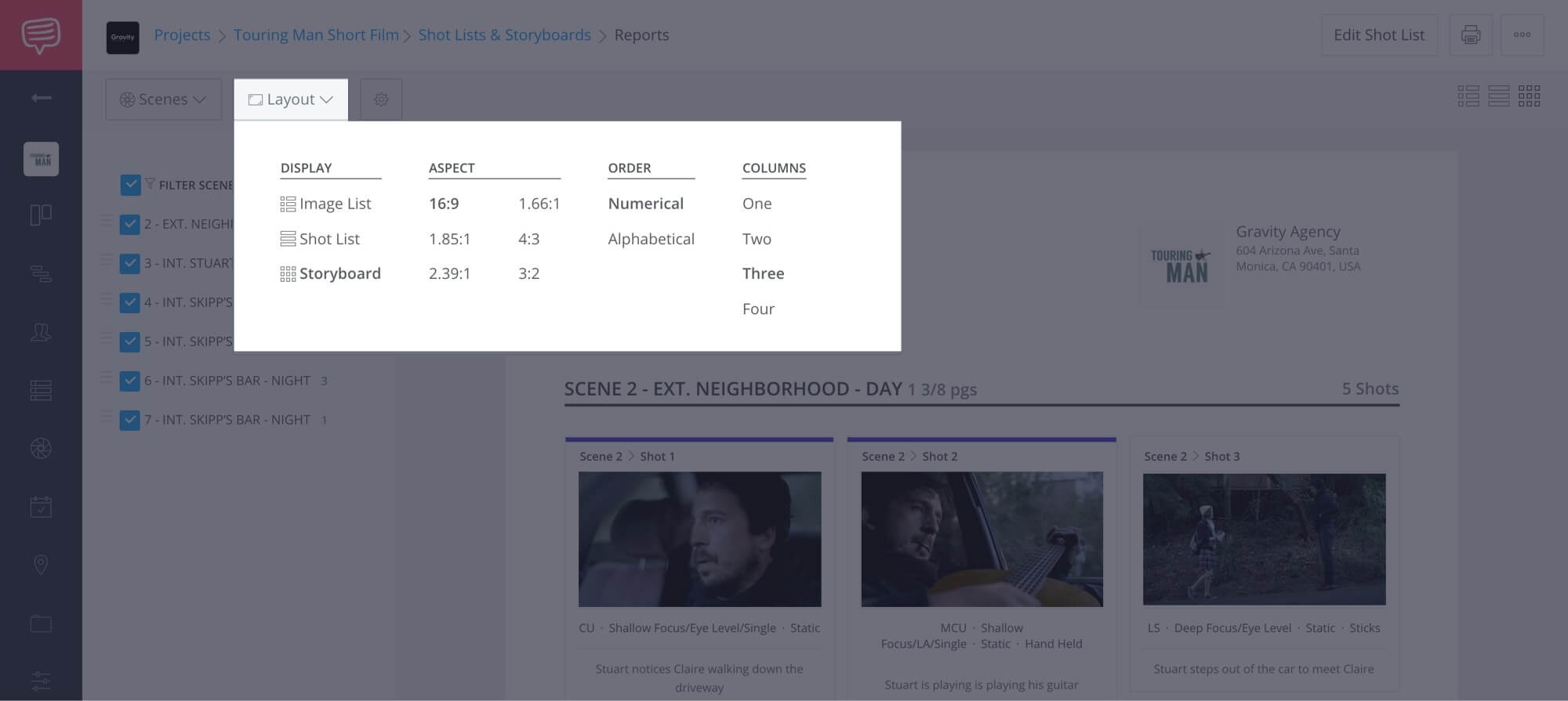 How to Create a Shot List with StudioBinder - Shot List Creator Template - 23
